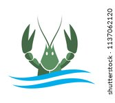 Crayfish Logo. Green River...