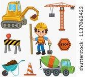 vector  illustration of a... | Shutterstock .eps vector #1137062423