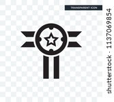badge vector icon isolated on... | Shutterstock .eps vector #1137069854