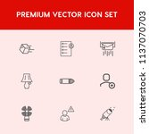 modern  simple vector icon set... | Shutterstock .eps vector #1137070703