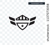 badge vector icon isolated on... | Shutterstock .eps vector #1137073058