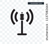 loud speakers vector icon... | Shutterstock .eps vector #1137082664