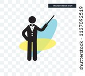 orchestra director with stick...   Shutterstock .eps vector #1137092519
