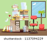 period of accountants and... | Shutterstock .eps vector #1137094229