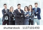 concept of success in business  ...   Shutterstock . vector #1137101450