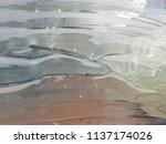 embossed glass texture... | Shutterstock . vector #1137174026