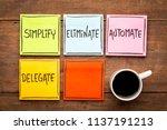 task management concept ... | Shutterstock . vector #1137191213