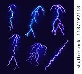 Set Of Lightning Bolts....