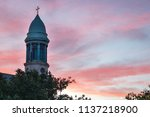 Church's Cross And Steeple Wit...