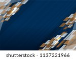 blue background design with...   Shutterstock .eps vector #1137221966