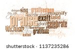 graphic typographic montage... | Shutterstock .eps vector #1137235286