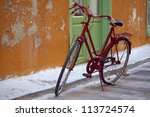 Red Bicycle  Nafplio  ...