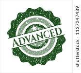 green advanced distressed... | Shutterstock .eps vector #1137247439