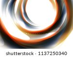 holographic paint explosion... | Shutterstock .eps vector #1137250340