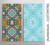 vertical seamless patterns set  ...   Shutterstock .eps vector #1137254783