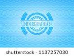 undergraduate water... | Shutterstock .eps vector #1137257030