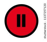 video pause icon  symbol ...
