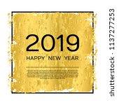 golden texture on white... | Shutterstock .eps vector #1137277253
