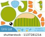 education paper game for... | Shutterstock .eps vector #1137281216