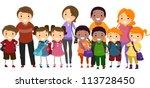 illustration of school kids...   Shutterstock .eps vector #113728450
