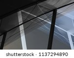 collage photo of transparent...   Shutterstock . vector #1137294890