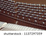 piano  musical instrument | Shutterstock . vector #1137297359
