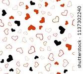 dark red vector seamless... | Shutterstock .eps vector #1137302240