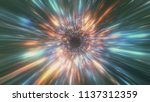 abstract mysterious heaven... | Shutterstock . vector #1137312359