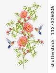 beautiful seamless vector... | Shutterstock .eps vector #1137326006