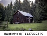 freaky old rural country wood... | Shutterstock . vector #1137332540