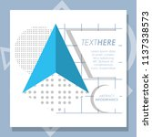 template infographic with... | Shutterstock .eps vector #1137338573