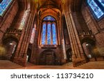 Anglican Cathedral In Liverpoo...