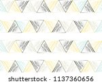 triangle pattern background | Shutterstock .eps vector #1137360656