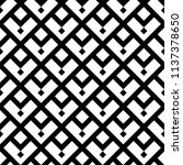 ethnic pattern. tribal motif.... | Shutterstock .eps vector #1137378650