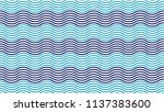the blue zigzag curve...   Shutterstock .eps vector #1137383600