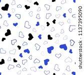 light blue vector seamless... | Shutterstock .eps vector #1137395090
