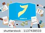 somalia africa economy country... | Shutterstock .eps vector #1137438533