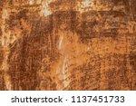oxide steel texture for... | Shutterstock . vector #1137451733