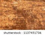 oxide steel texture for...   Shutterstock . vector #1137451736
