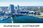 aerial view of orlando skyline... | Shutterstock . vector #1137464189