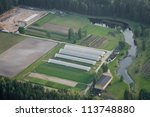 aerial vie over the industrial... | Shutterstock . vector #113748880