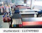printing industry transfer... | Shutterstock . vector #1137499883