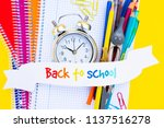 back to school concept   small... | Shutterstock . vector #1137516278