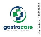 stomach care logo design... | Shutterstock .eps vector #1137520226