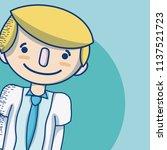 doctor cute cartoon | Shutterstock .eps vector #1137521723
