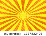 bright sunbeams background with ... | Shutterstock . vector #1137532403