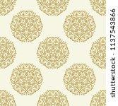 classic seamless vector pattern....   Shutterstock .eps vector #1137543866