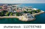 aerial drone view of constanta... | Shutterstock . vector #1137557483