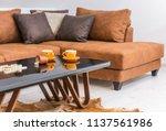 interior of a living room in... | Shutterstock . vector #1137561986