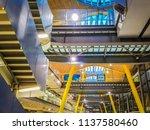 barajas  madrid  spain  07 19... | Shutterstock . vector #1137580460